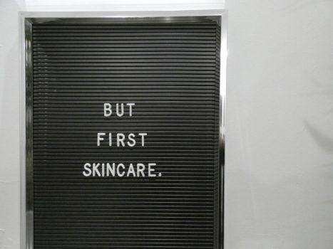 Skincare should be simple she said…